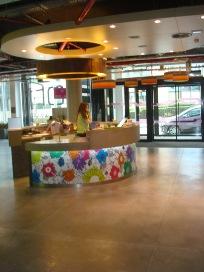 אזור הקבלה הפתוח במלון אלופט בריסל