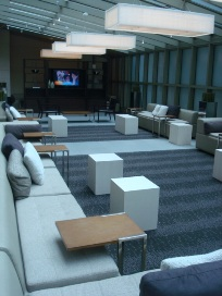 אזור ה-VIP לאונג' במלון אלמנט בניו יורק