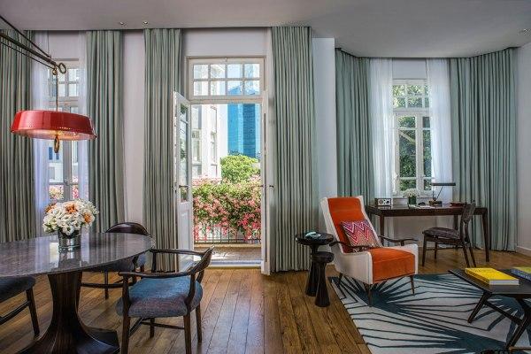 סוויטה במלון נורמן. צילום: סיון אסקיו