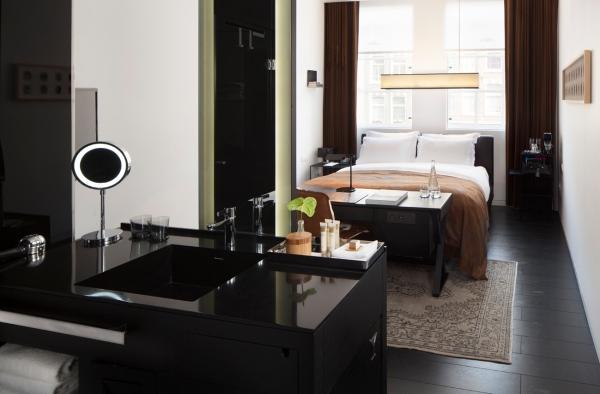 חדר אורחים במלון סיר אלברט. צילום : Ewout Huibers