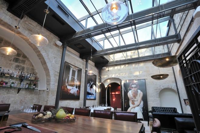 המסעדה של שף אמיר נאור במלון אלגרה בירושלים